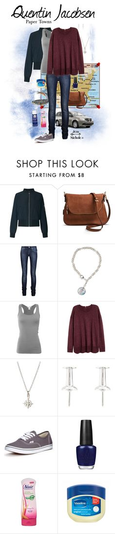 """""""Paper Towns: Female: Quentin Jacobsen"""" by jess-nichole ❤ liked on Polyvore featuring Miss Selfridge, Moda Luxe, Victoria Beckham, Chart Metal Works, Bozzolo, Dogeared, Lauren Klassen, Vans and OPI"""