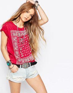 752075adf Denim supply Ralph Lauren shirt Estampa Bandana
