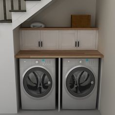 Practical Home laundry room design ideas 2018 Laundry room decor Small laundry room ideas Laundry room makeover Laundry room cabinets Laundry room shelves Laundry closet ideas Pedestals Stairs Shape Renters Boiler Ikea Laundry Room, Tiny Laundry Rooms, Basement Laundry, Laundry Closet, Basement Stairs, Laundry Room Storage, Small Laundry, Laundry Room Design, Kitchen Storage
