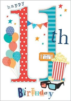 Abacus Cards is a UK based publisher of greeting cards, social stationery and gift wrap. Happy 11th Birthday, Happy Birthday Quotes, Happy Birthday Images, Happy Birthday Greetings, Birthday Messages, Birthday Month, Boy Birthday, Birthday Cards, Boy Cards