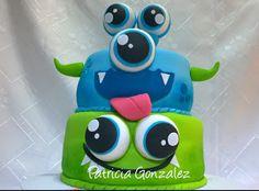 PATHALMA -  Patricia y Pablo: Torta de Monstruos, monster cake