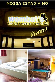 Dica de uma ótima hospedagem em Vienna, Áustria: da rede Wombats: The city hostel