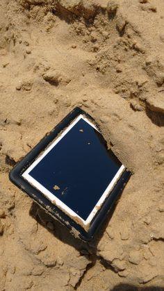 Mergulho na areia