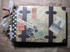 Vintage Vacation Mini Paper Bag Album