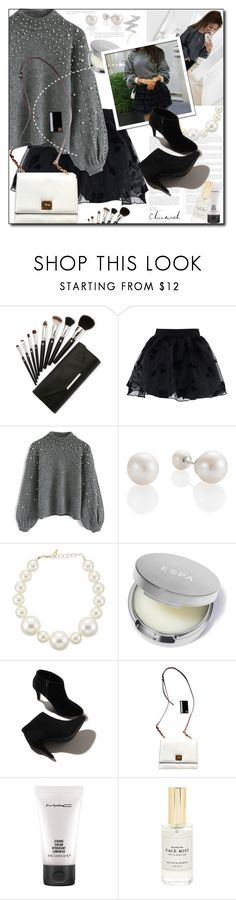 """Chic New Year's"" by astromeria ❤ liked on Polyvore featuring Chicwish, Kenneth Jay Lane, Dolce&Gabbana, MAC Cosmetics, Mullein & Sparrow, NYX and chicwish"
