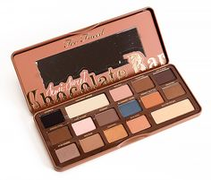 Now Available! Too Faced Semi-Sweet Chocolate Bar Eye Palette, Spring 2015 Semi Sweet Collection. Click through to see photos and swatches!