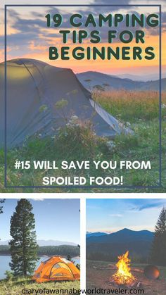 Camping tips for  beginners 1