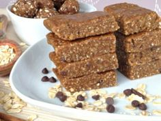 Cinnamon Cookie Dough Squares by Plant-Powered Kitchen