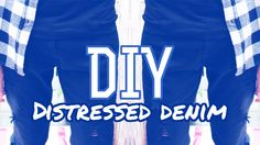 DIY: Distressed Denim + OOTD | MAKSIMIZED