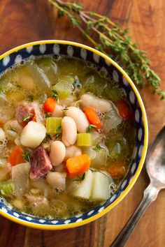 Ham and Bean Soup Re