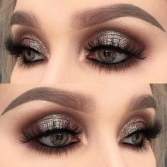 For the night out☺️✨ I used @toofaced chocolate bar palette (shadows: cherry cordial, triple fudge and amaretto)   @inglot_cosmetics body sparkles in 66 and 71 + kohl pencil 01   @diamond_japney lashes in desired   @anastasiabeverlyhills dipbrow pomade in taupe ☺️ #makeupartist #makeupartistsworldwide #wakeupandmakeup #hudabeauty #vegas_nay #dressyourface #fiercesociety #eotd #motd #toofaced #mus #makeupaddict #makeupjunkie #makeupmafia
