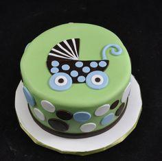 baby carriage cakes   Baby carriage cake   Flickr - Photo Sharing!
