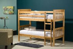 Seattle Pine Bunk Bed £310 http://www.expressfurniture.org.uk/beds/for-kids-beds/seattle-pine-bunk-bed.html