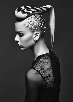 Best Huge Avant Garde Hair Styles That Are Absolutely Sensational – ZygoStyle Creative Hairstyles, Up Hairstyles, Braided Hairstyles, Fashion Hairstyles, Natural Hair Styles, Short Hair Styles, Avant Garde Hair, Editorial Hair, Fantasy Hair