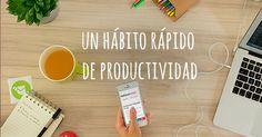 En este artículo aprenderás un poderoso hábito de productividad, con el que aseguras terminar las tareas importantes todos los días (no importa si tu horario es una locura). Y un extra Tip para sobreponerte a la procrastinación.