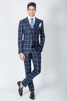 "gentlemanuniverse:  ""Check suit  """