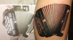 accordion hand tattoo by hexa salmela tattoos that are just bad ass pinterest tattoo. Black Bedroom Furniture Sets. Home Design Ideas
