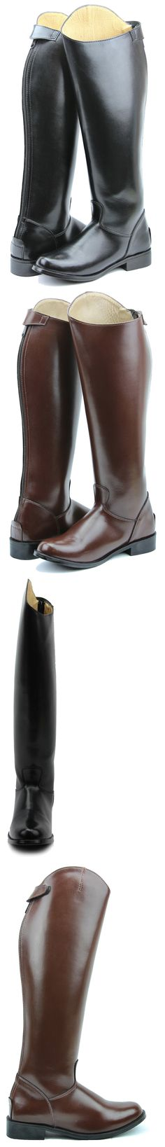 Tall Riding Boots 183382: Hispar Mens Decent Dress Dressage Boots With Zipper Riding English Equestrian BUY IT NOW ONLY: $219.99
