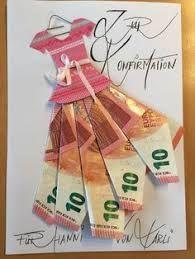 Geldgeschenke - New Ideas Birthday Goals, Birthday Cards, Craft Gifts, Diy Gifts, Don D'argent, Diy Arts And Crafts, Paper Crafts, Money Bouquet, Creative Money Gifts