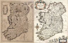 How to find Down Survey maps of Ireland