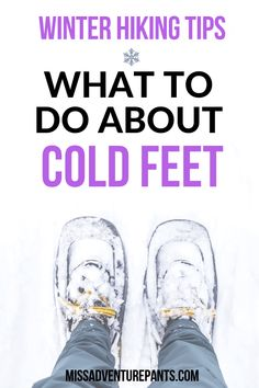 Do your feet get cold during winter hiking? Check out this post to learn about s… Do your feet get cold during winter hiking? Check out this post to learn about selecting the best boots and socks for winter hiking and snowshoeing. Winter Hiking Boots, Winter Camping, Camping And Hiking, Camping Gear, Winter Travel, Camping Hacks, Winter Running, Camping Holiday, Camping Hammock