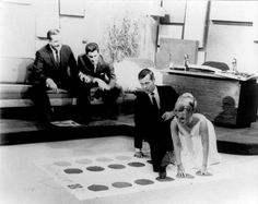 "Johnny Carson and Eva Gabor on ""The Tonight Show"" playing Twister (1966)"