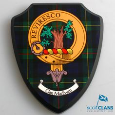 Clan Wall Plaque