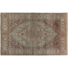 Check out this item at One Kings Lane! Dion Rug, Chocolate
