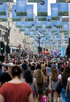 Did you visit #RegentStreet and enjoy the sunshine at #SummerStreets?