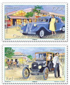 Polynésie française - Série Les automobiles anciennes
