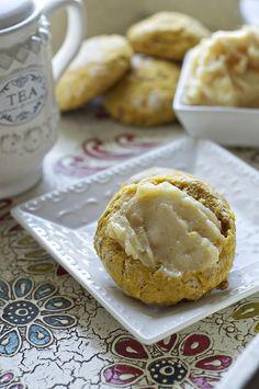 Pumpkin Biscuits with Orange-Honey Butter (make with gluten-free flour blend)