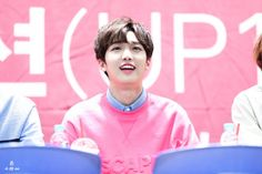 160214 UP10TION Incheon Fansigning SunyoulCr:   내 선물이야  Do not edit