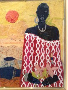Willie Torbert African American Black Artist Original Collage Art