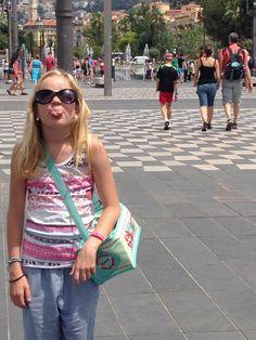 På ferie i Nice
