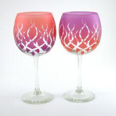 decorated glassware - Google Search