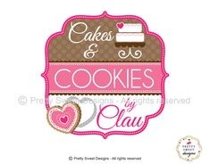 Custom Bakery logo including personalized by MyPrettySweetDesigns, $240.00