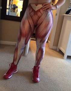 Muscle work out pants. Bia Kanne