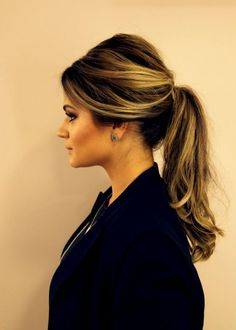 old fashioned ponytail (thassia naves)