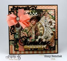 Mother's Day A Ladies Diary Card Graphic 45 Ginny Nemchak