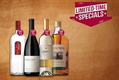 April Limited Time Specials at Total Wine & More