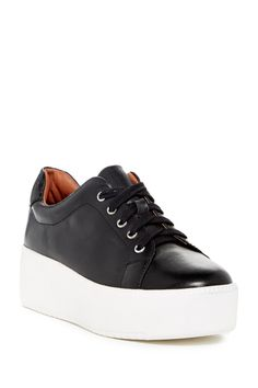 Cannon Lace-Up Flatform Sneaker