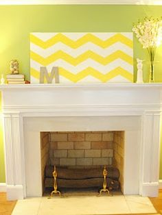 Cool wall decor for playroom!