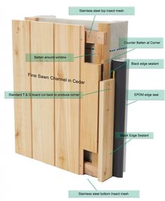 Available in British and imported cedar we offer quality Tongue and Groove cladding, trim & accessories for delivery all over the UK - just call 01278 238400 for assistance Shed Cladding, Wood Cladding Exterior, Larch Cladding, Timber Battens, Wood Siding, Western Red Cedar Cladding, Tongue And Groove Cladding, Mountain Home Exterior, Framing Construction