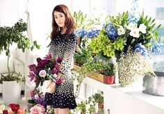 "Arnaldo Bassini Spring collection featuring Lee Da-hae is out!! As we knew before, the theme of this photo-shoot is ""Enjoy With Blossom"" and while I like the colors, the flowers prints …"