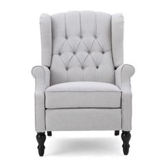 $265 Sara Tufted Recliner with nailheads!