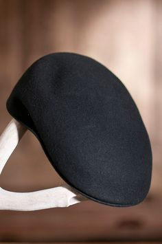 Crushable Wool Felt Ascot Hat by Overland Sheepskin Co. (style 78120)