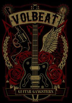 "Volbeat- rarely do I find ""new to me"" bands that I love- Volbeat is one of those exceptions. Must see them live soon."
