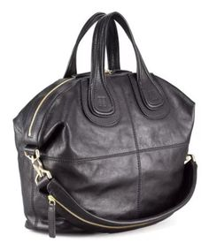 Givenchy Nightingale Black  Large Satchel Celebrity's Favorites #Givenchy #Satchel