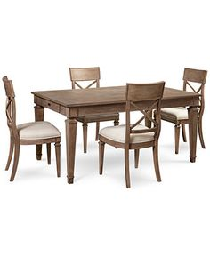High Quality Winston 5 Piece Dining Set (Dining Table U0026 4 Side Chairs)   Furniture