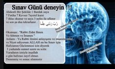 Sınav günü okunur Allah Islam, School Notes, Psychology, Prayers, Messages, Education, Instagram, Rage, Photos